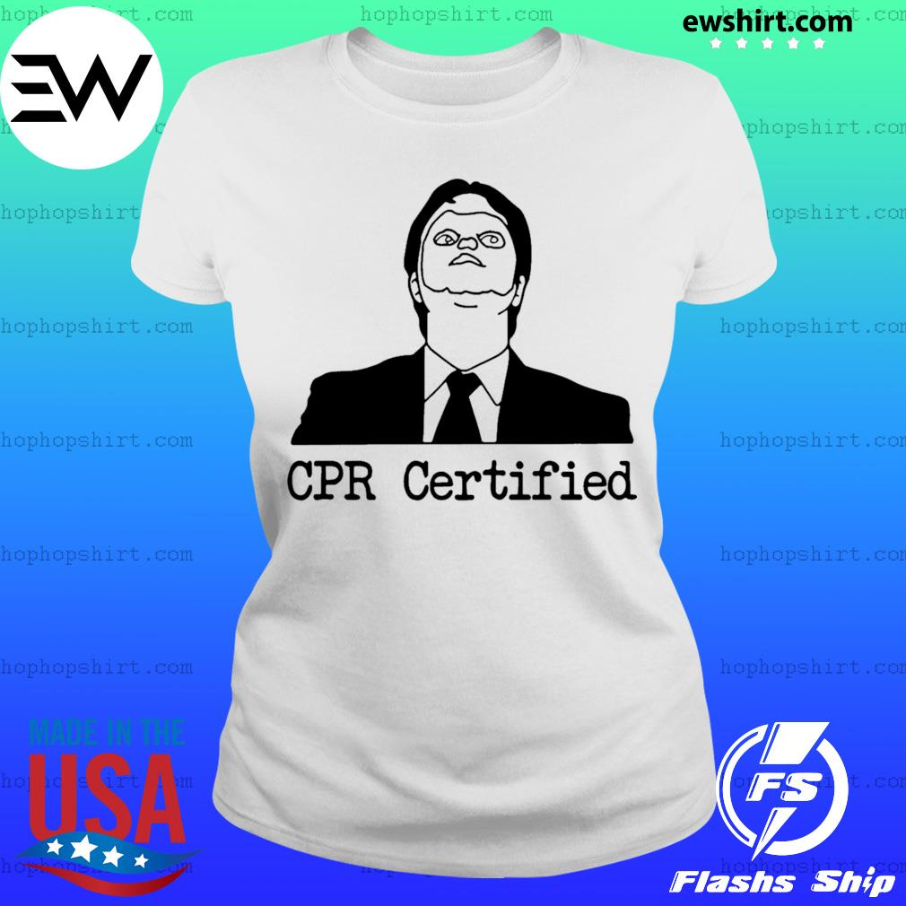 Certified Dwight Schrute Dummy Mask s Ladies Tee