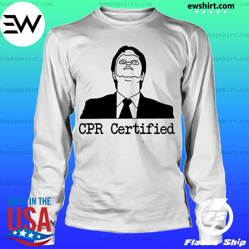 Certified Dwight Schrute Dummy Mask s LongSleeve
