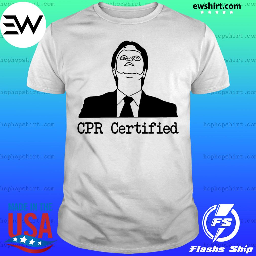Certified Dwight Schrute Dummy Mask shirt