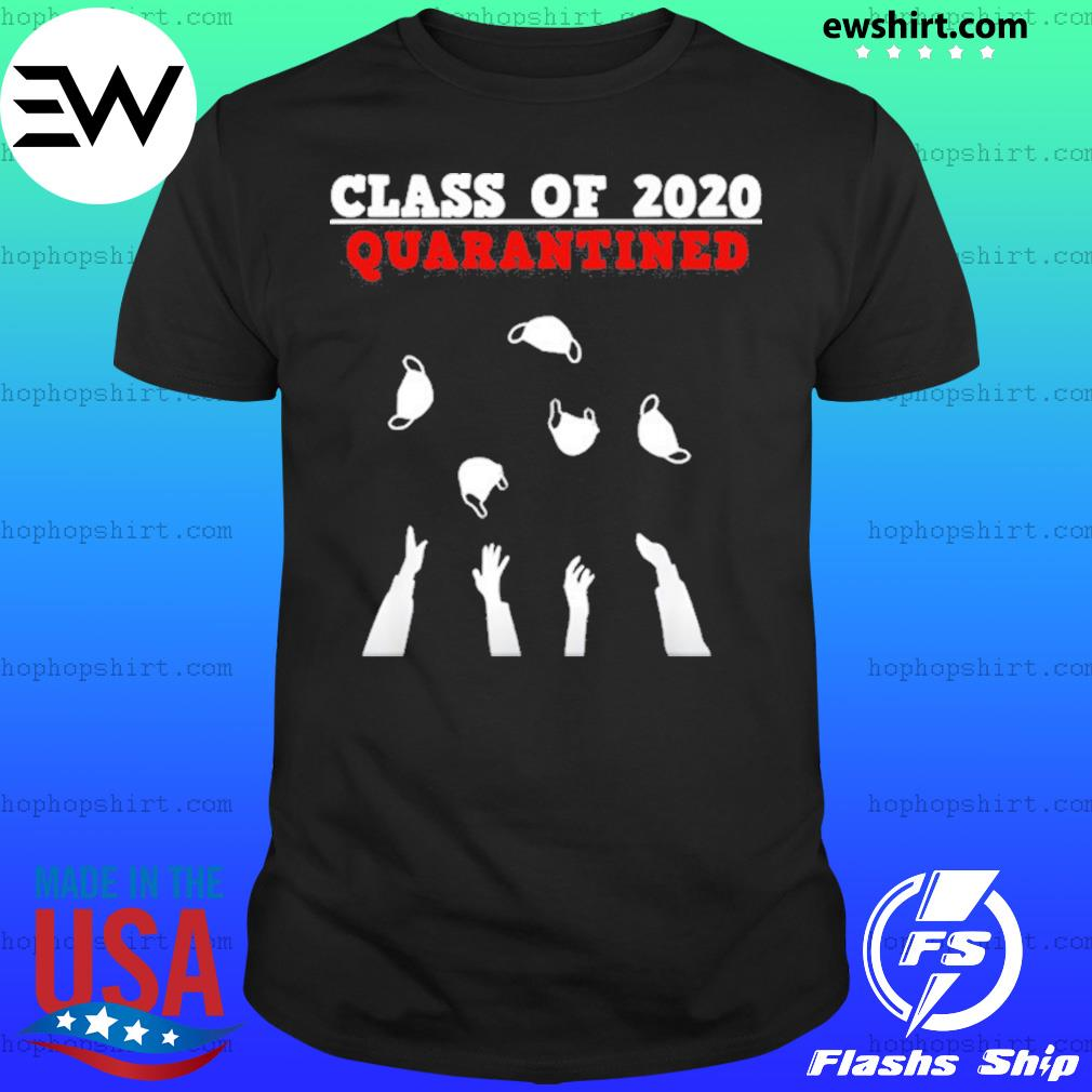 Class Of 2020 Funny Senior Friends Quarantine Graduation Shirt