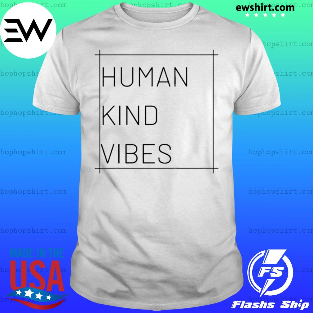Human Kind Vibes Square Logo Shirt