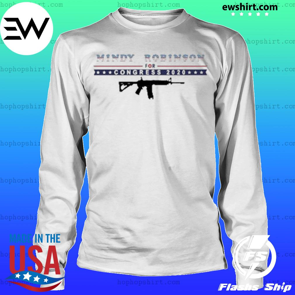 Mindy Robinson for Congress 2020 AR-15 s LongSleeve