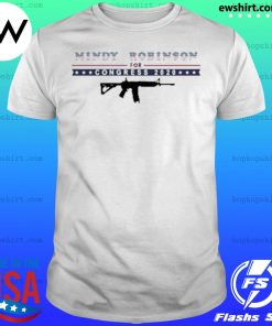 Mindy Robinson for Congress 2020 AR-15 shirt