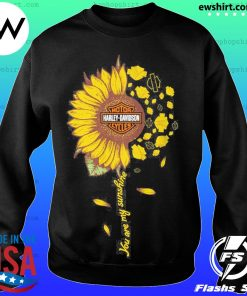 Moto harley davidson cycles sunflower you are my sunshine s Sweater