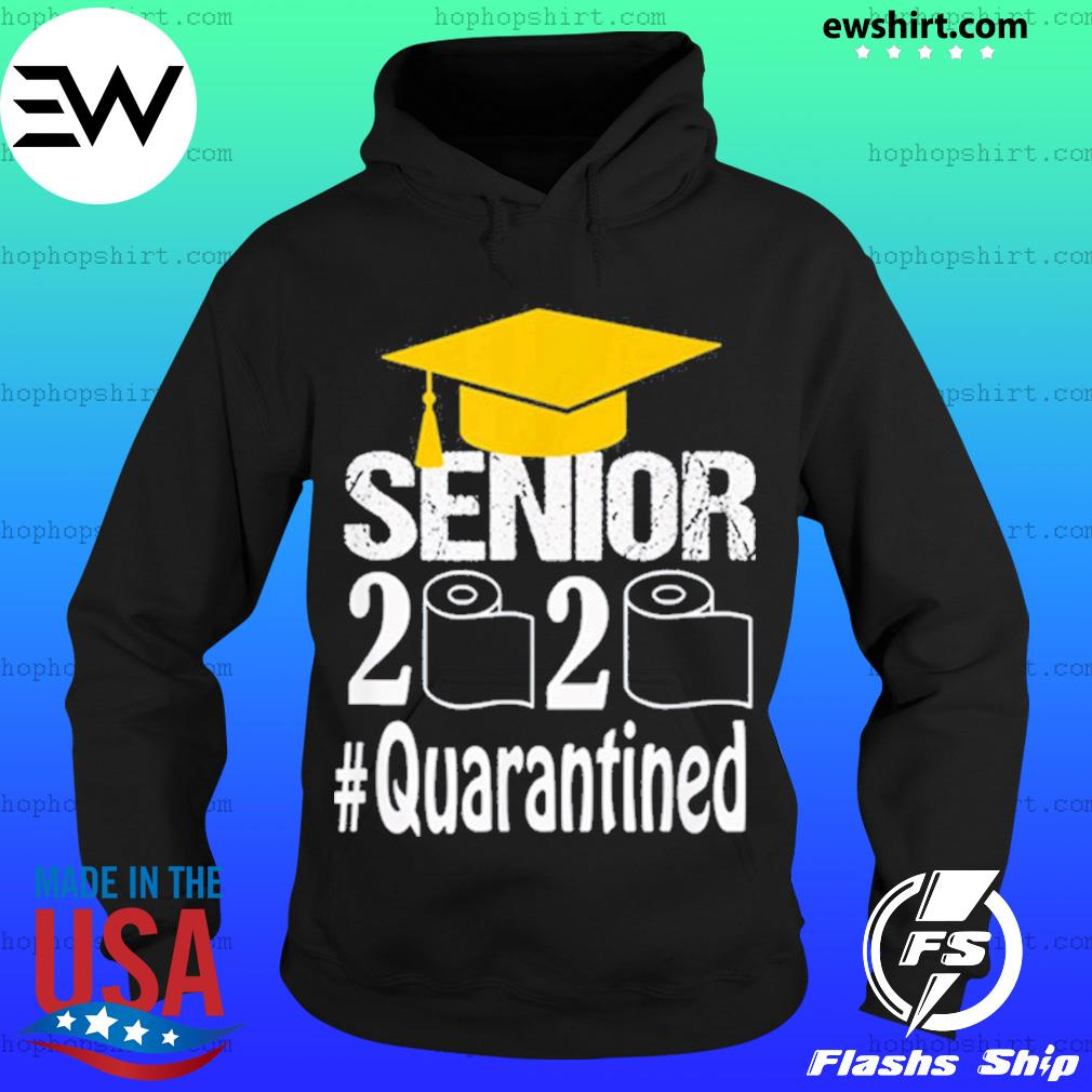 Senior Class Of 2020 Shit Just Got Real Graduation Funny Shirt Hoodie