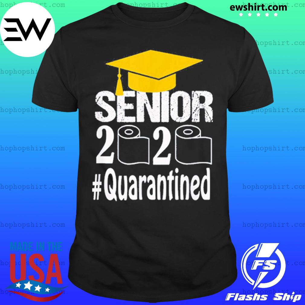 Senior Class Of 2020 Shit Just Got Real Graduation Funny Shirt