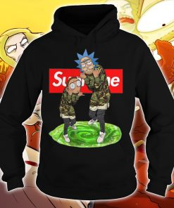Official Rick and morty supreme hoodie
