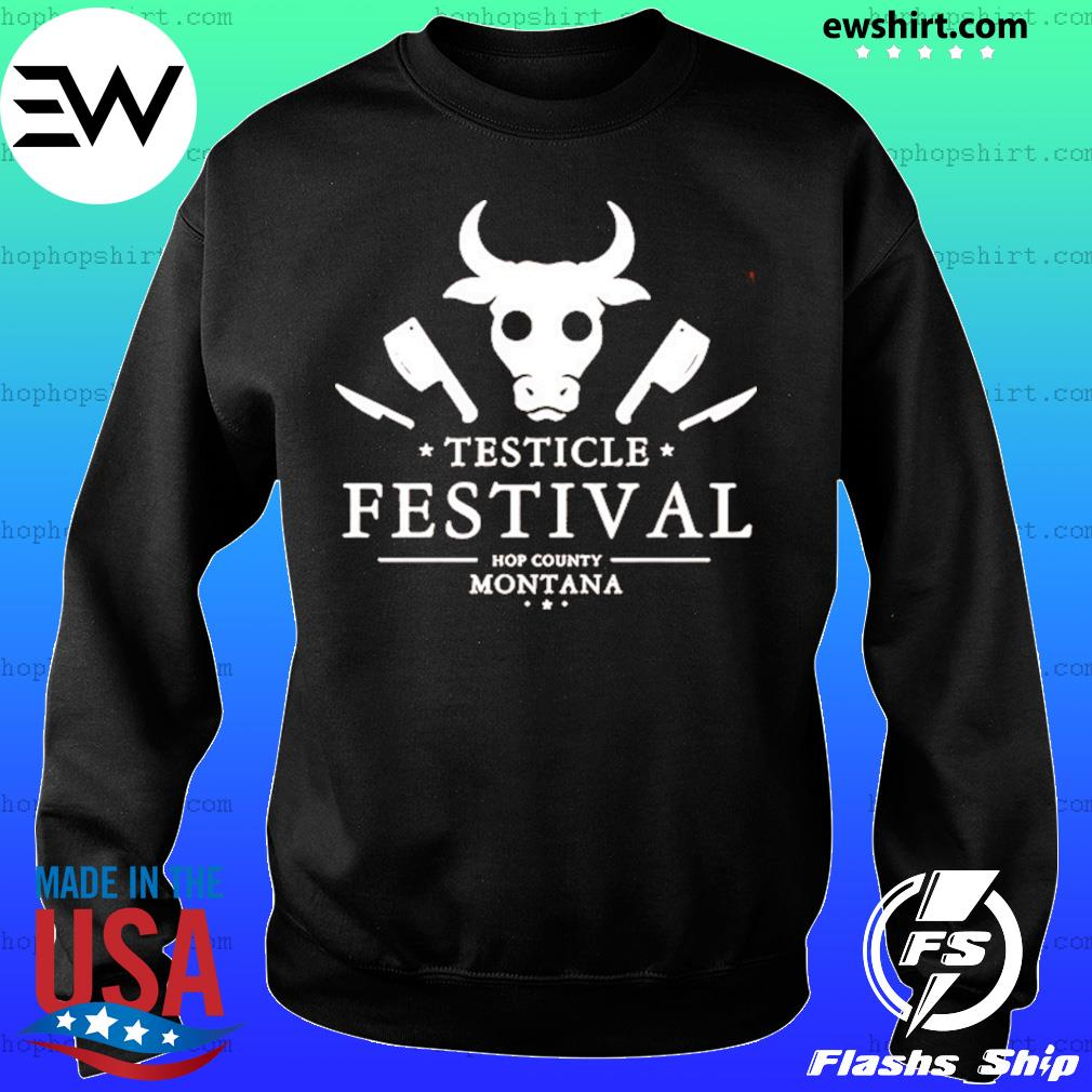 Testicle Festival Hop County Montana Shirt Sweater