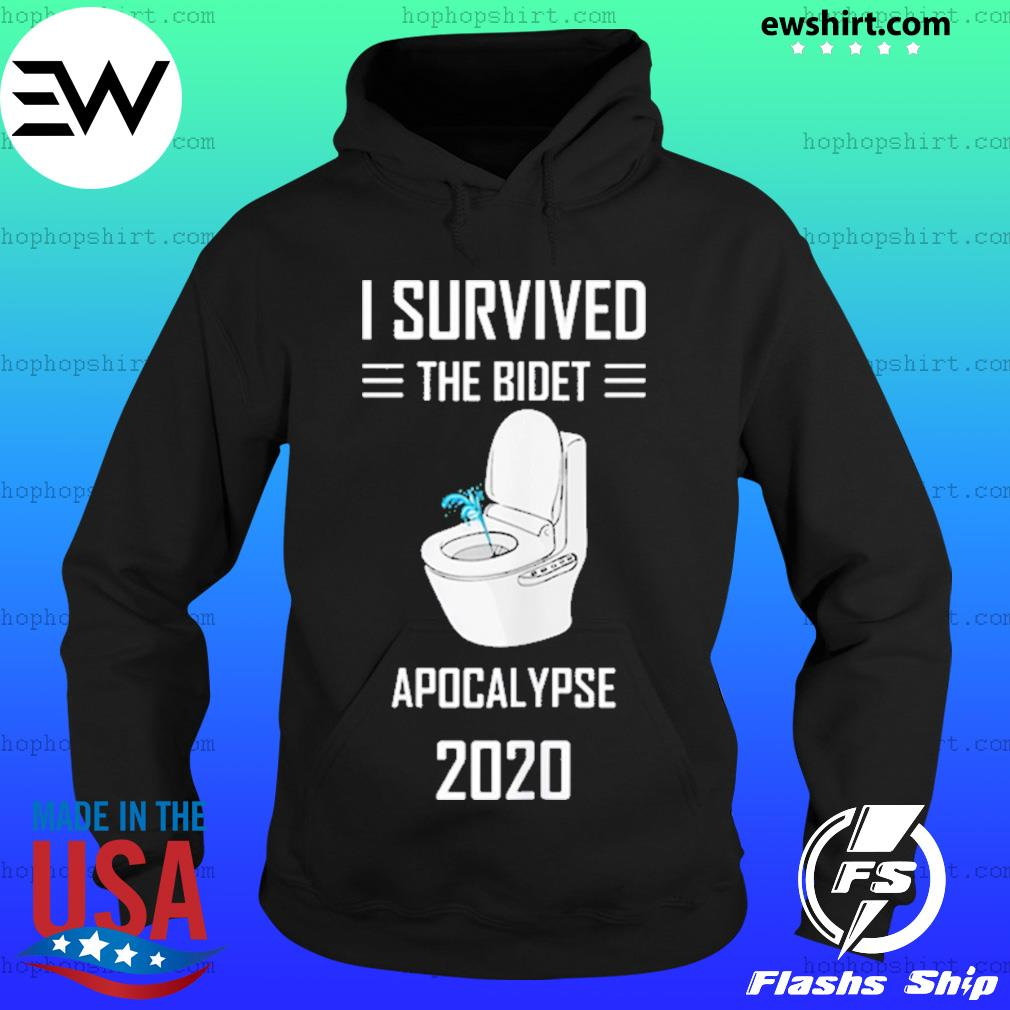 Vintage I survived the bidet apocalypse 2020 s Hoodie