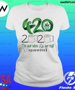 420 Stoner 2020 quarantined s Ladies Tee