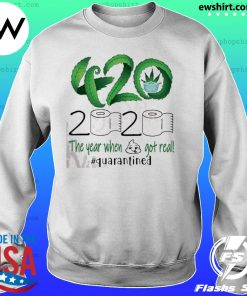420 Stoner 2020 quarantined s Sweater