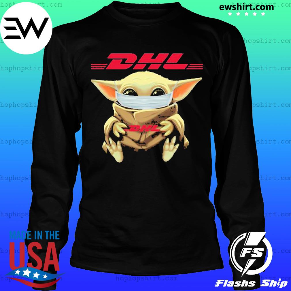Baby yoda face mask hug DHL I can't stay at home s LongSleeve
