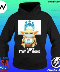 Baby yoda face mask hug Kaiser Permanente I can't stay at home s Hoodie