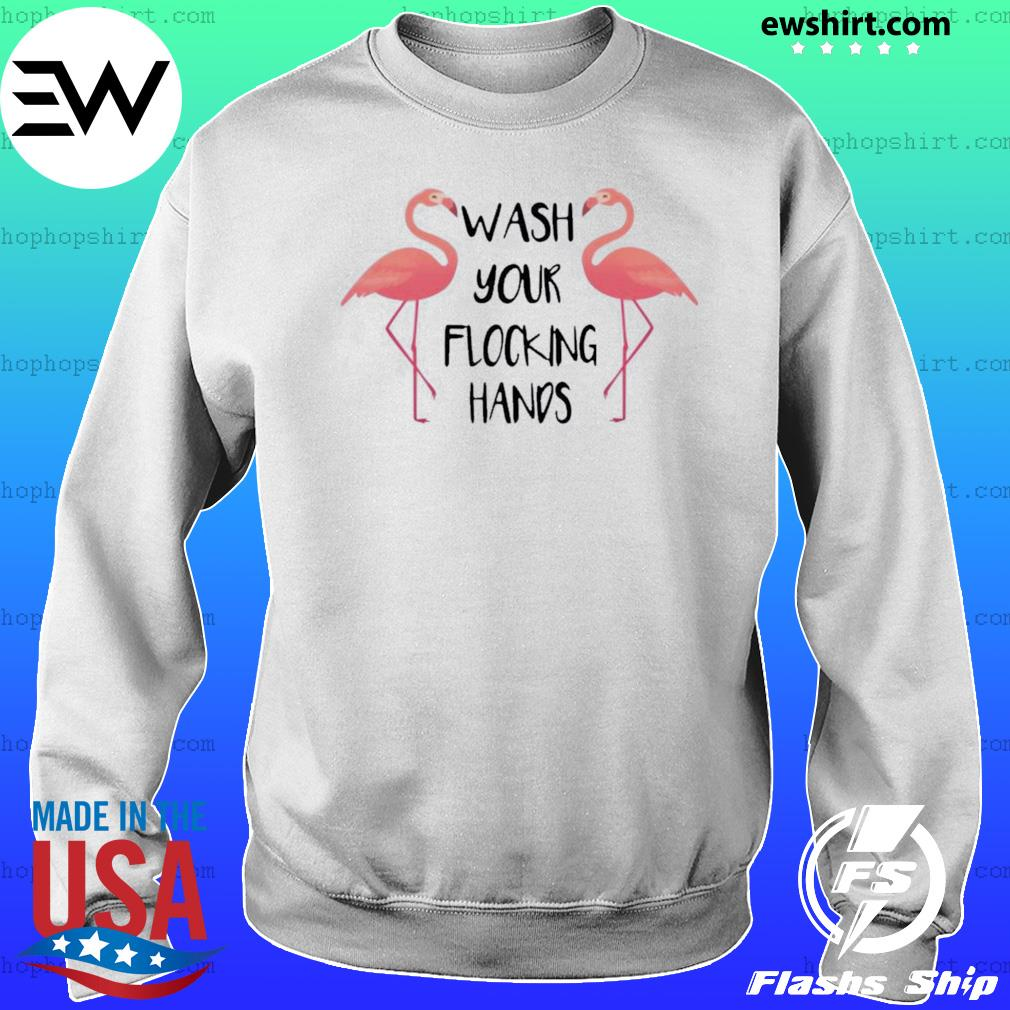 Flamingo Wash Your Flocking Hands Sweater