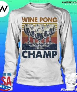 Wine pong champ vintage s LongSleeve