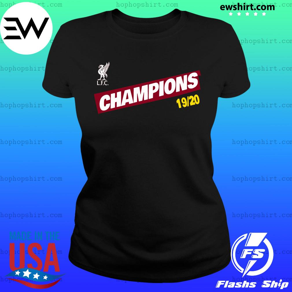 liverpool fc premier league champions 19 20 shirt hoodie sweater long sleeve and tank top liverpool fc premier league champions