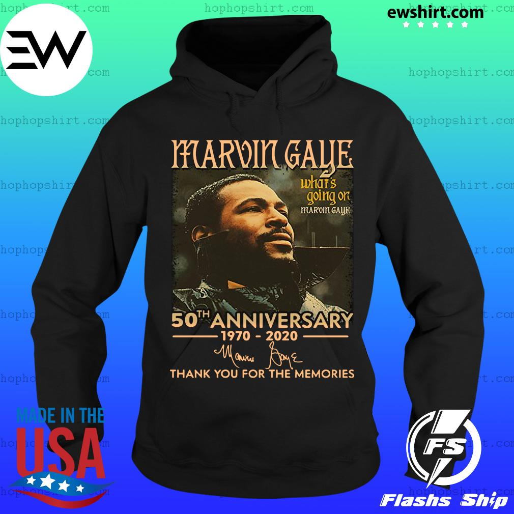Marvin Gaye 50th anniversary 1970 2020 thank you for the memories s Hoodie