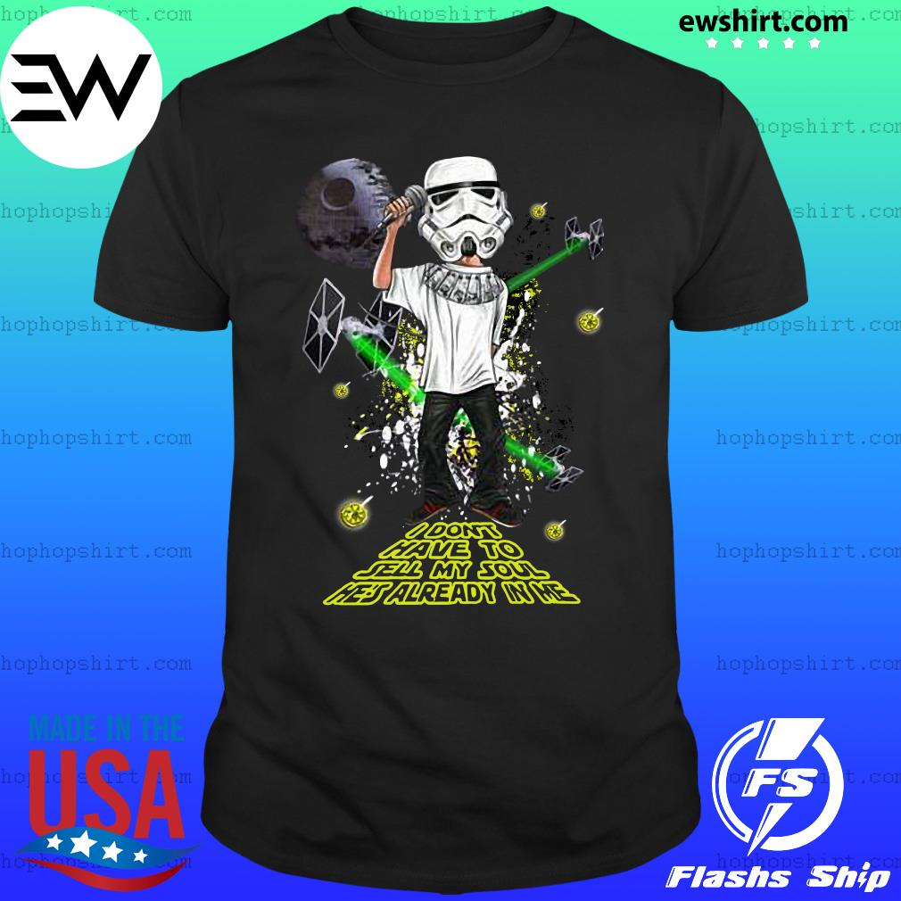 The Stone Roses Star War I don't have to sell my soul he's already in me shirt