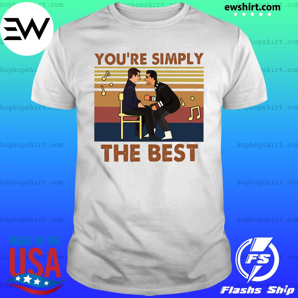 You're simply the best vintages shirt