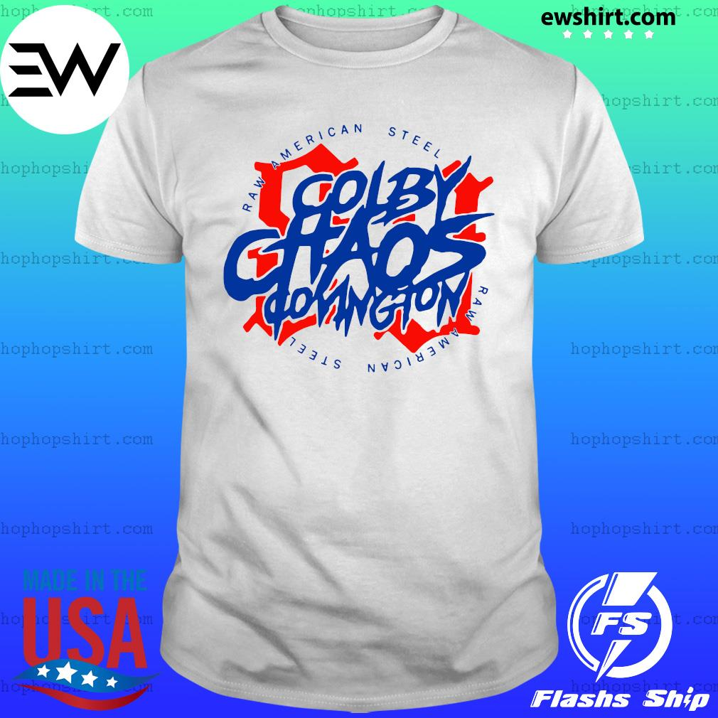 Colby Chaos Covington Raw American Steel 91 T-Shirt