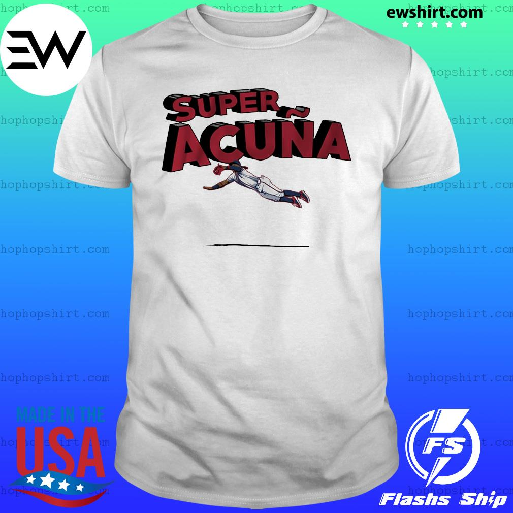 Super Acuña Atlanta Baseball Shirt