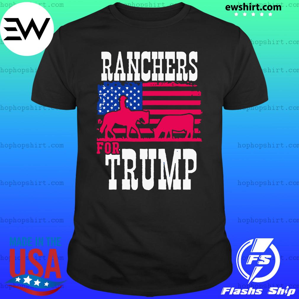 Ranchers For Trump Flag US T-Shirt