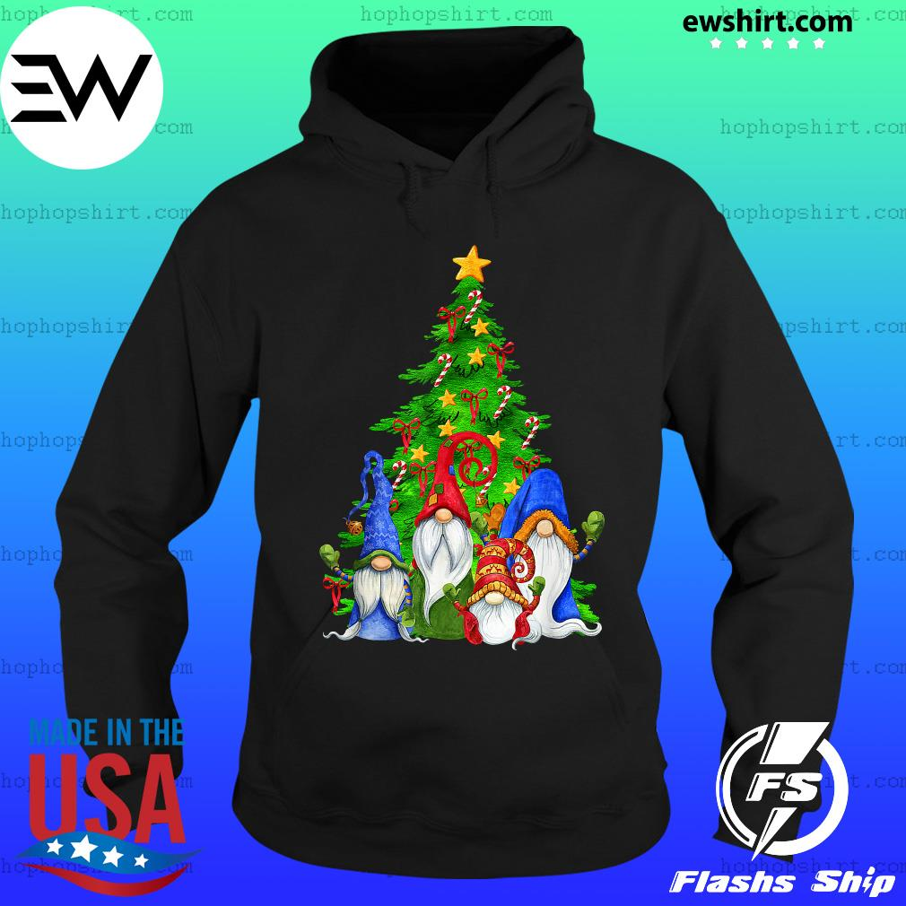 Gnomes Christmas Tree Sweats Hoodie