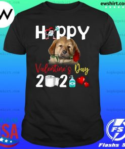 Tibetan Mastiff Happy Valentine's Day With Toilet Paper 2021 Shirt
