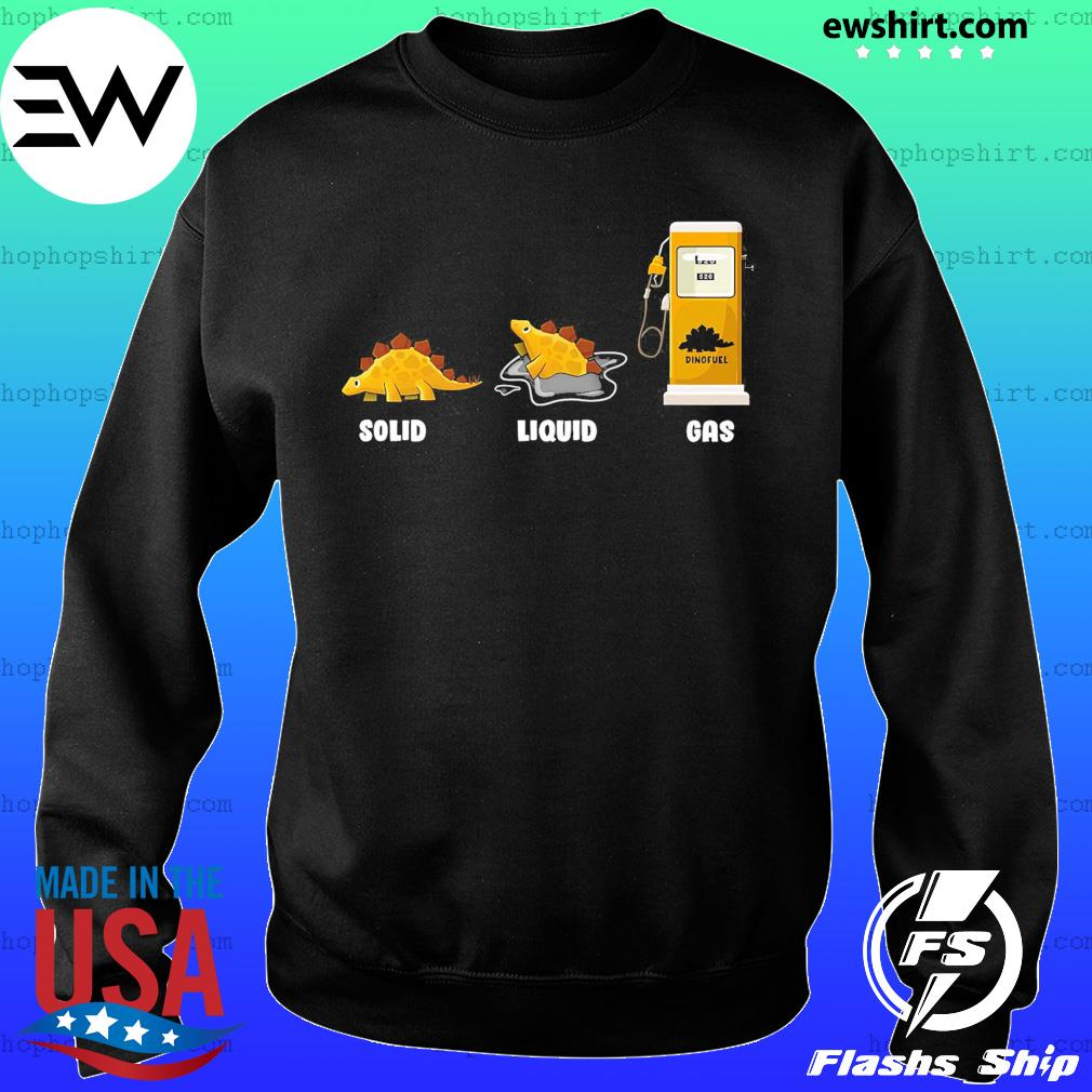 Solid Liquid Gas Shirt Sweater