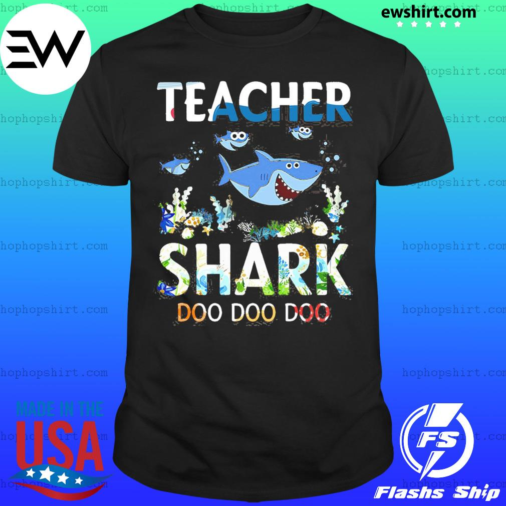Teacher Shark Doo Doo Doo Shirt