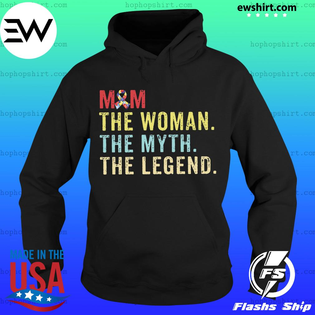 Vintage Mom The Woman The Myth The Legend Shirt Hoodie