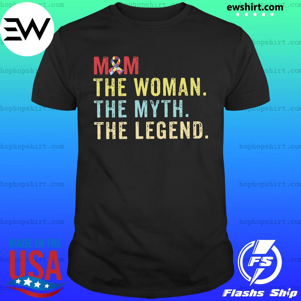 Vintage Mom The Woman The Myth The Legend Shirt