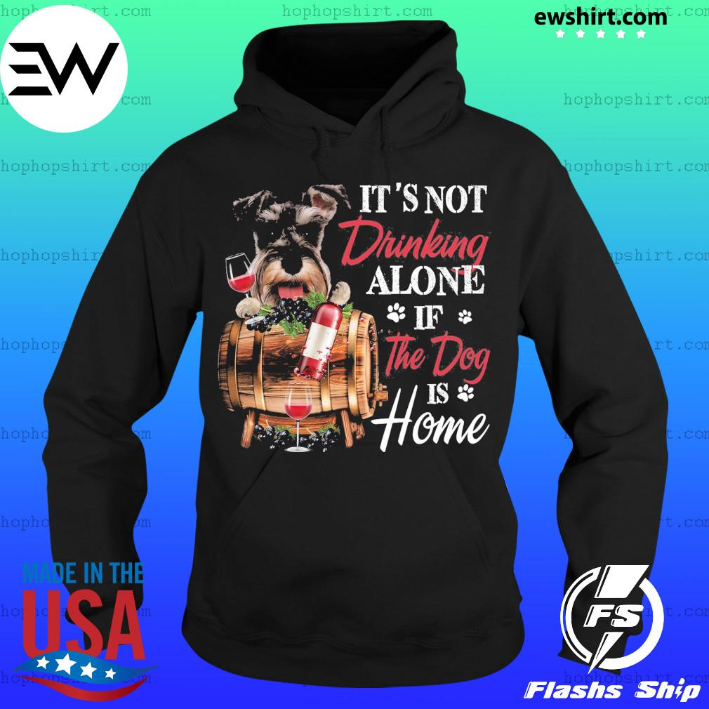 Schnauzer Drinking Together Classic T-Shirt Hoodie
