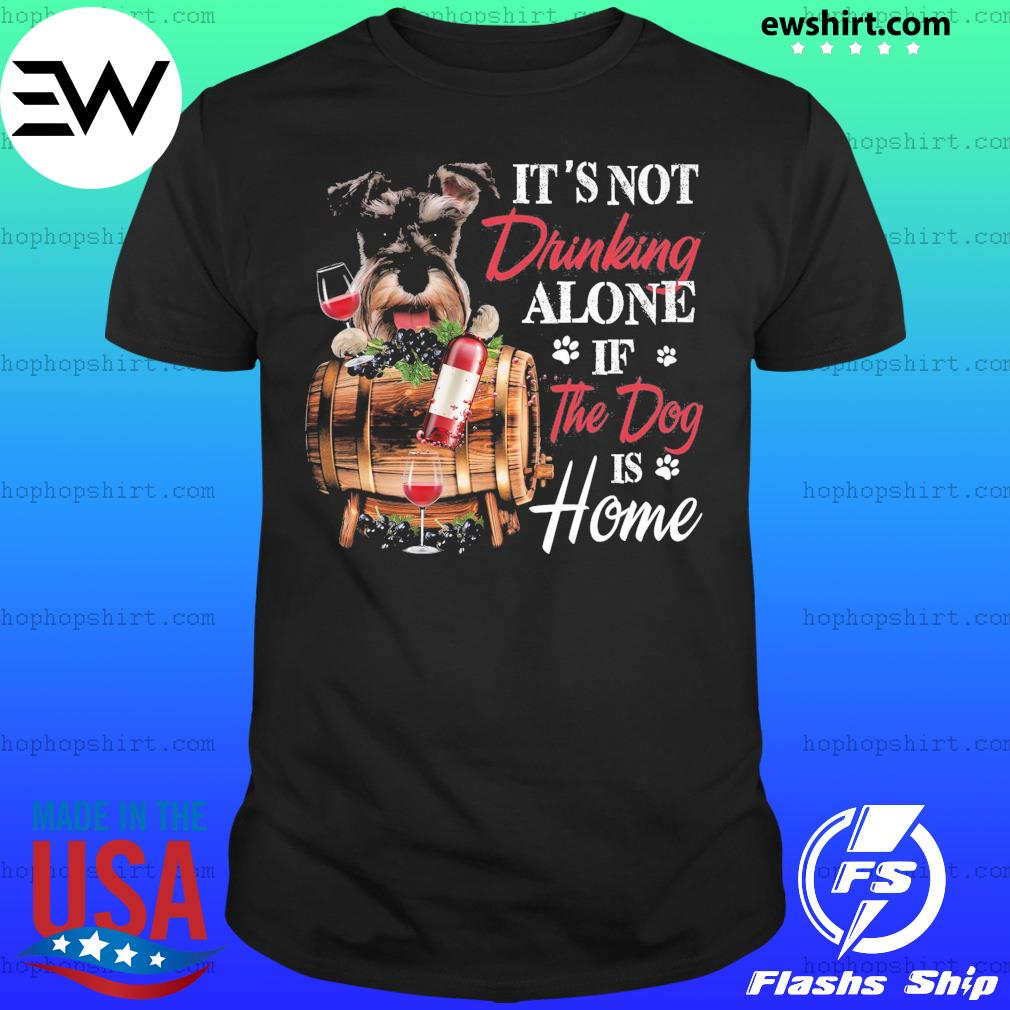 Schnauzer Drinking Together Classic T-Shirt