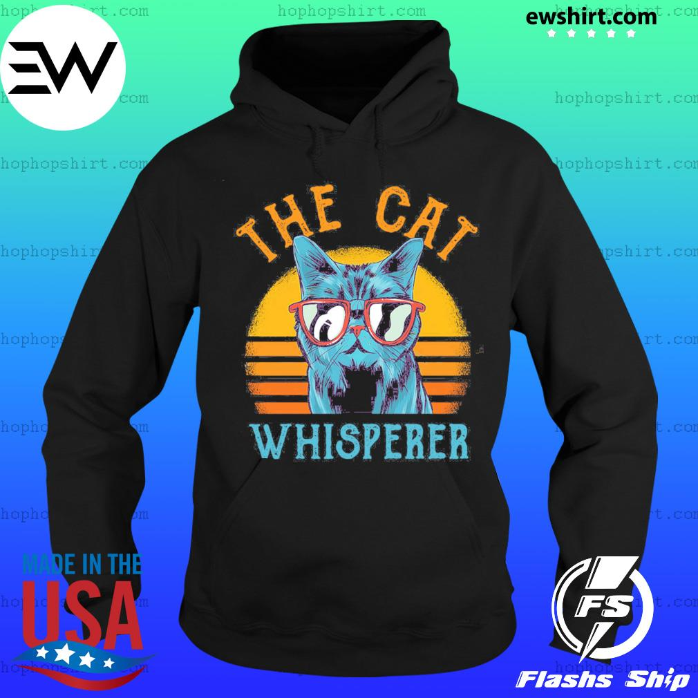The Cat Whisperer Vintage Shirt Hoodie